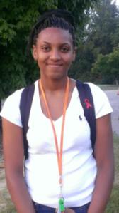 Khadijah Fountain Sophomore, Biology,  Secretary, CU Student Veterans Club