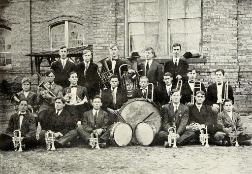 pineburr1912camp_0049 1912 band
