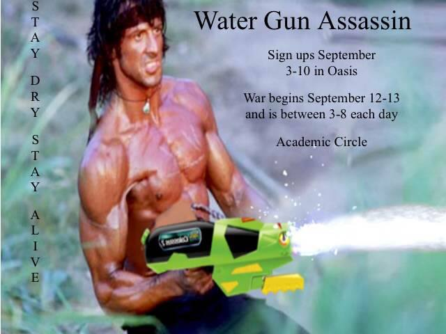 Throwback Thursday with Water Gun Assassin